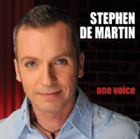 Stephen De Martin One Voice CD